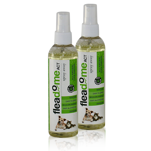 Buy Online Spray Away Pack Of 2 Fleadome Act Flea Killer